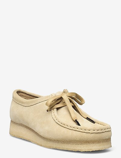 Wallabee. - loafers - maple suede