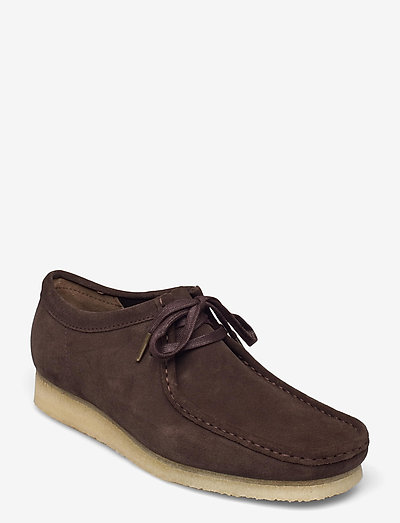 Wallabee - skor - dark brown suede