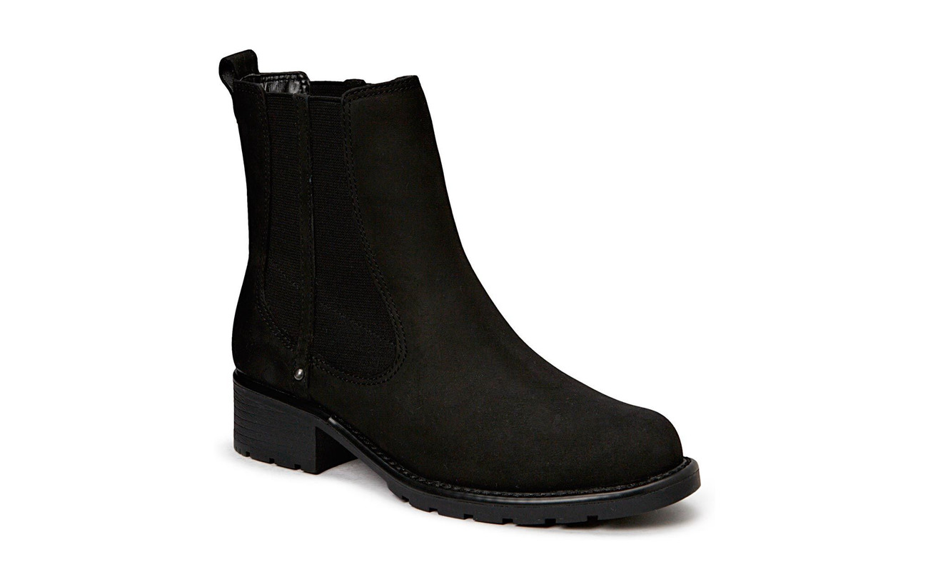 Clarks Orinoco Club - BLACK LEATHER