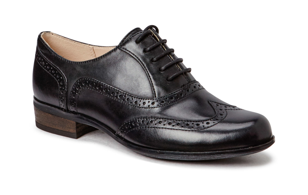 Clarks Hamble Oak - BLACK LEATHER