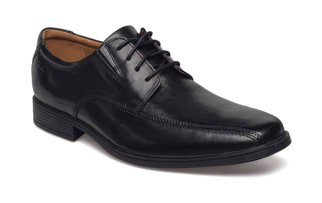 Clarks Tilden Walk - BLACK LEATHER