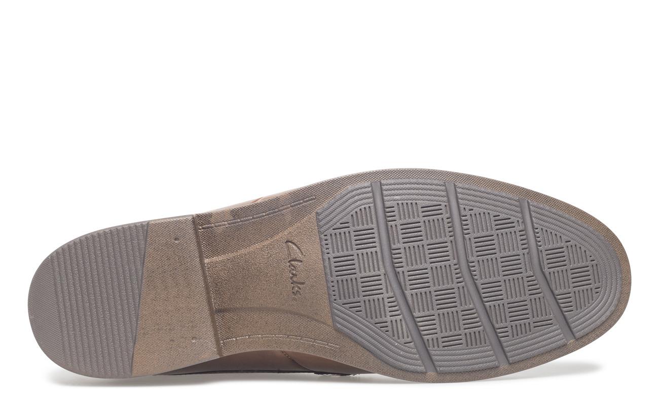 Intérieure Semelle Eva Doublure Leather Extérieure 100 Synthetic Supérieure Cuir Becken Tan Empeigne Plain Clarks w7Pzn