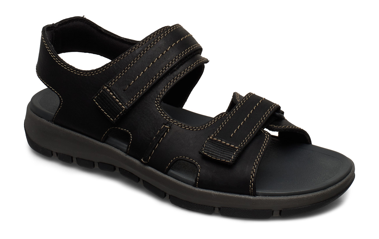 Clarks Brixby Shore - BLACK LEATHER