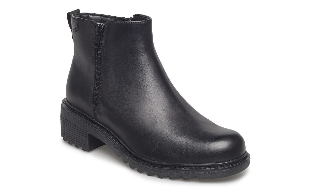 Intérieure Doublure Black Textile Clarks Cuir Leather 100 Supérieure Mixed Roam Semelle Extérieure Frankie Empeigne 0xqEZ7w
