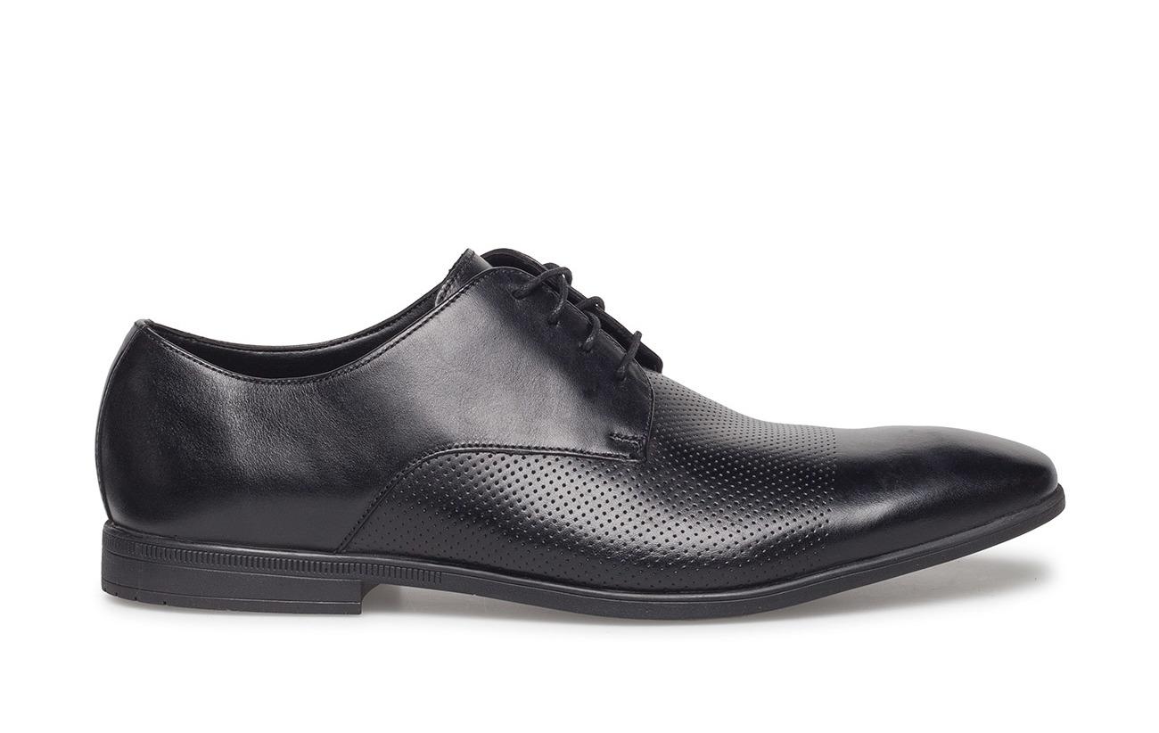 Clarks 100 Leather Supérieure Textile Black Semelle Bampton Intérieure Cuir Cap Empeigne Tr Doublure Extérieure CrtqrxXwf