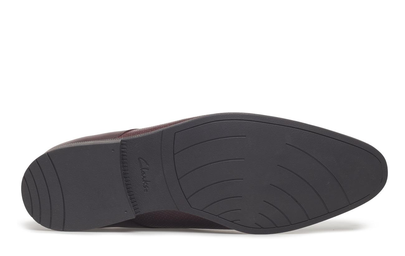 Empeigne Doublure Bampton Supérieure 100 Tr Burgundy Intérieure Leather Clarks Textile Cuir Cap Semelle Extérieure x1ICIq
