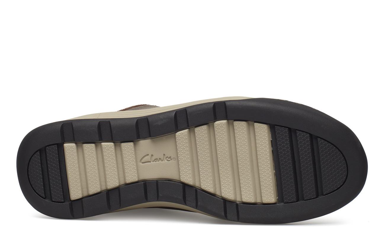 Clarks Ashcombemidgtx 100 Intérieure Dark Empeigne Extérieure Cuir Brown Textile Supérieure Lea Semelle Doublure Mixed CpCrq