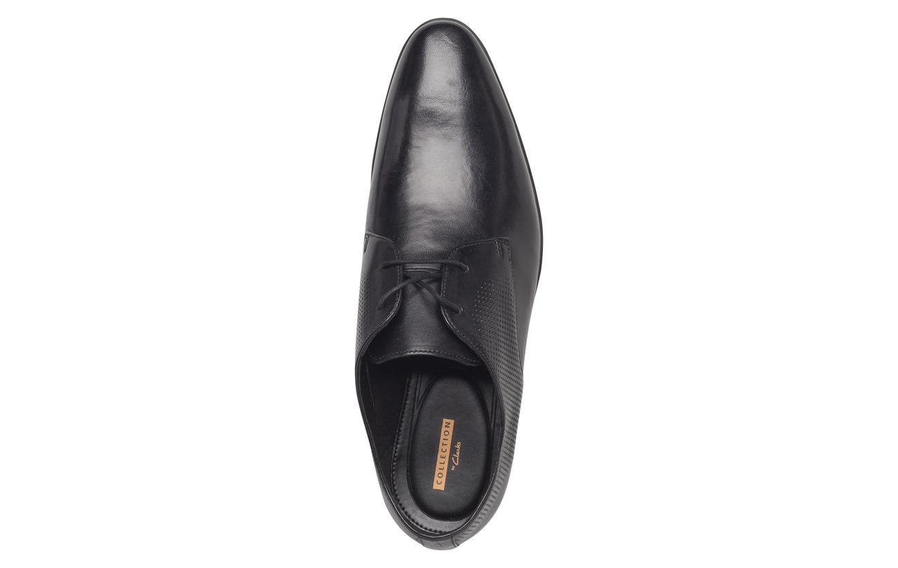 Extérieure Semelle Intérieure Supérieure Bampton Leather Doublure Empeigne Walk Black Clarks 100 Textile Tr Cuir BS1qnvnw