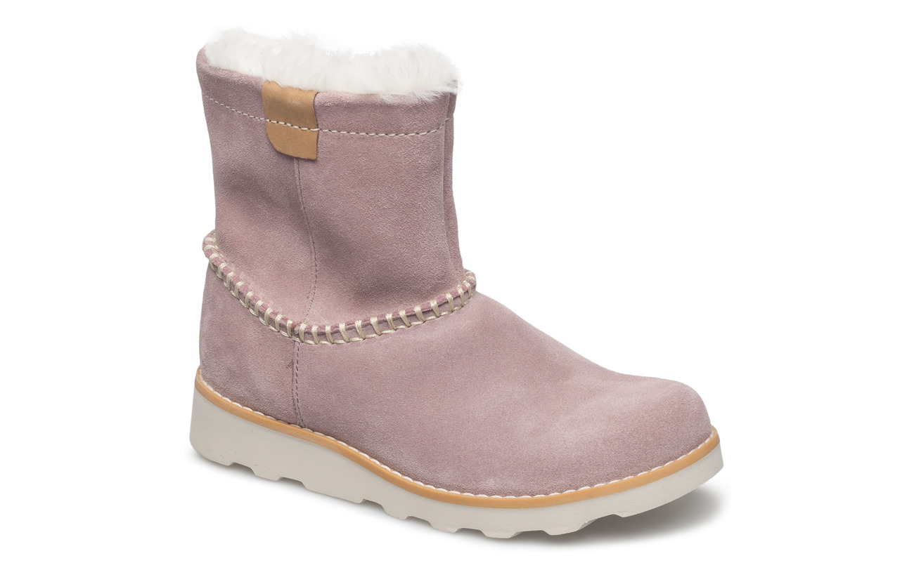 9d3d3741 Crown Piper (Pink Suede) (43.97 €) - Clarks - | Boozt.com