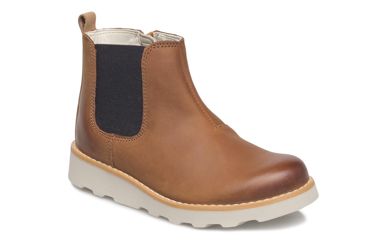 fe9e017b66 Crown Halo (Tan Leather) (43.97 €) - Clarks - | Boozt.com