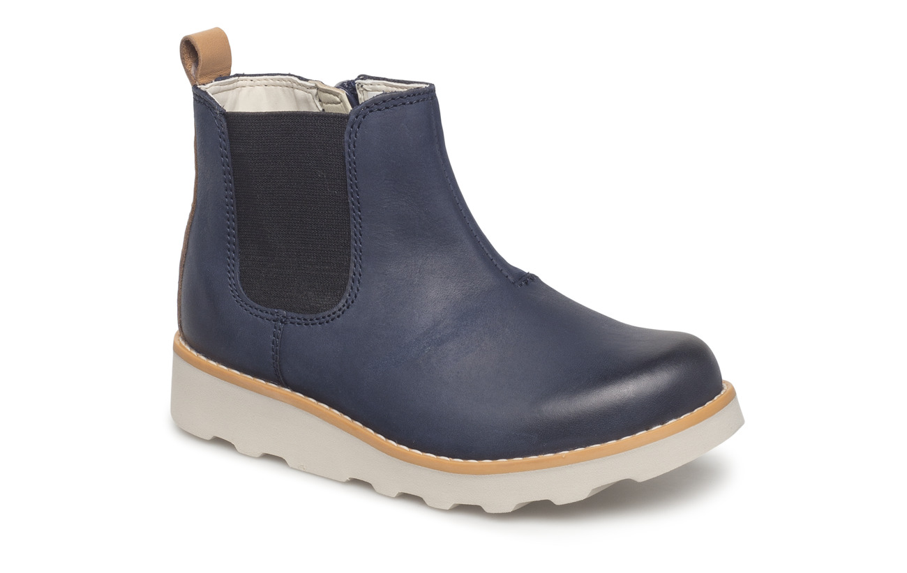 7a94f78707ab7 Crown Halo (Navy Leather) (47.97 €) - Clarks -   Boozt.com