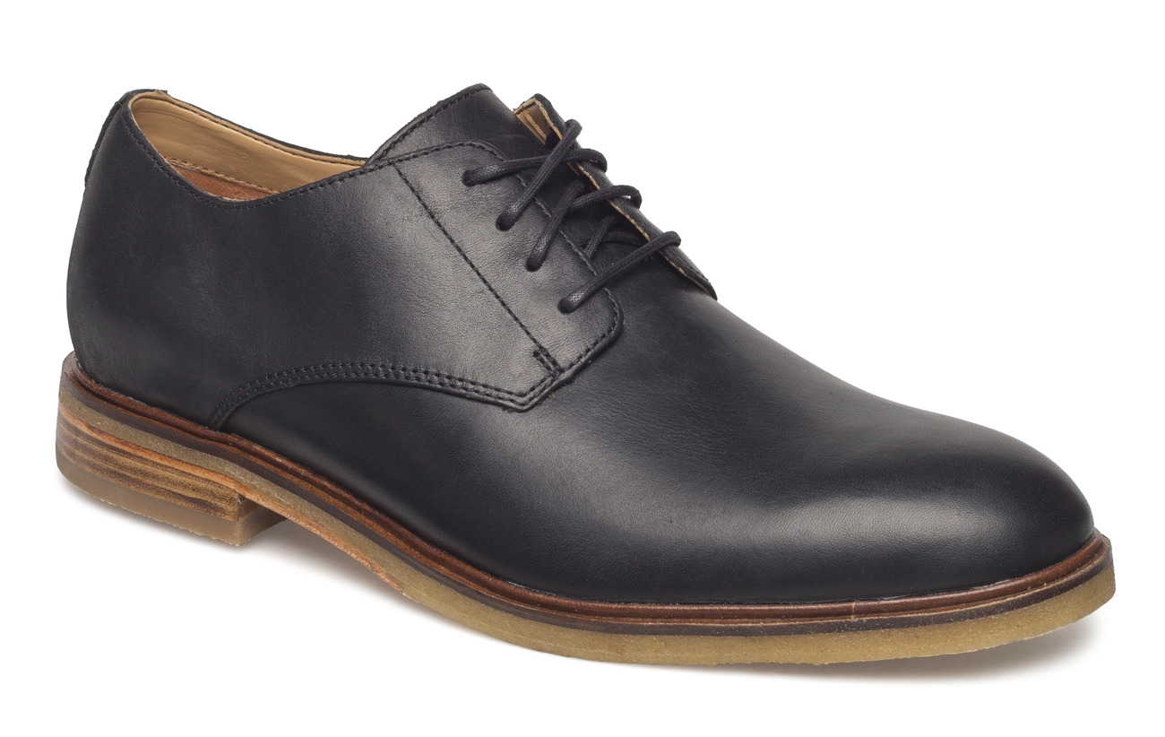a85357892e55 Clarkdale Moon (Black Leather) (104 €) - Clarks -