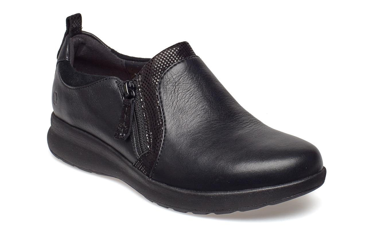 b3d561464ec Un Adorn Zip (Black Combi) (84.50 €) - Clarks -