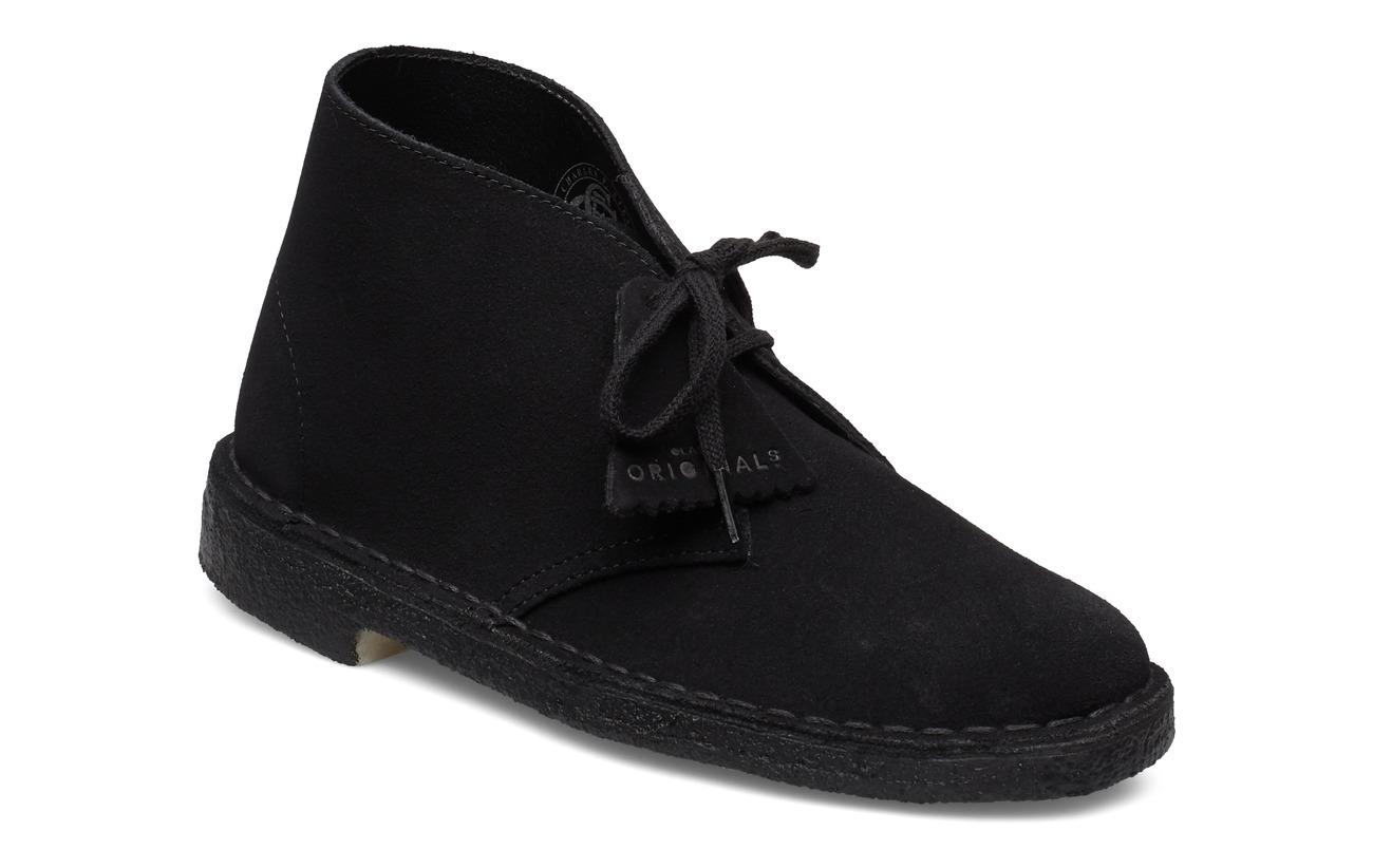 Clarks Desert Boot - BLACK SDE