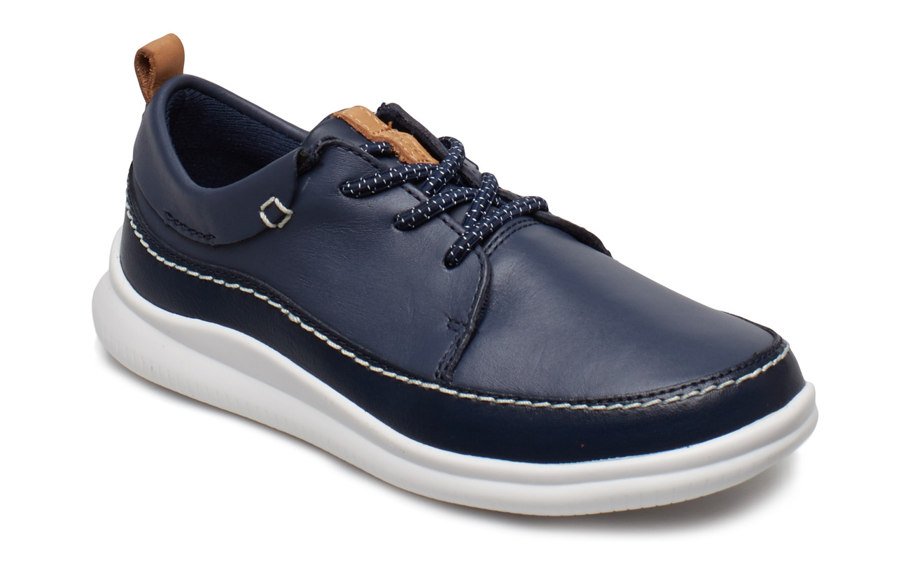 Clarks Cloud Blaze K - NAVY LEATHER