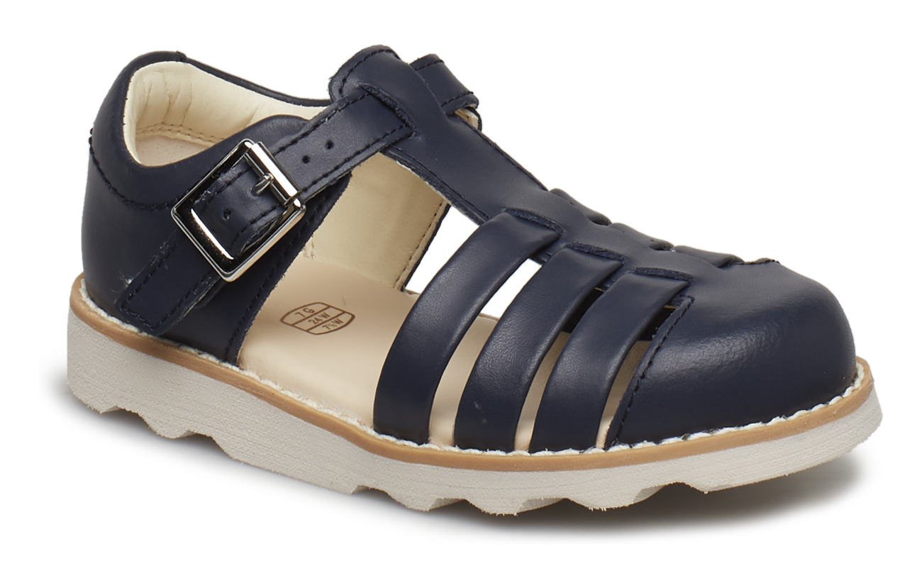 Clarks Crown Stem T - NAVY LEATHER