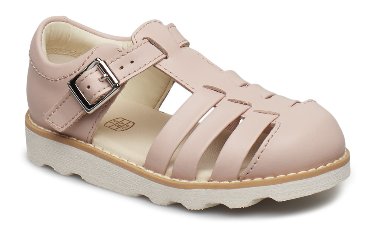 Clarks Crown Stem T - PINK LEATHER