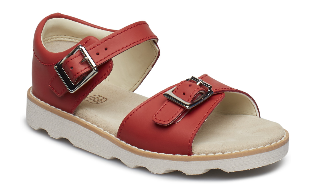 Clarks Crown Bloom T - CORAL LEATHER