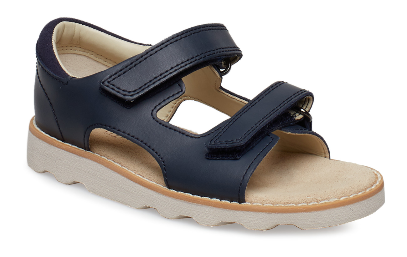 Clarks Crown Root T - NAVY LEATHER