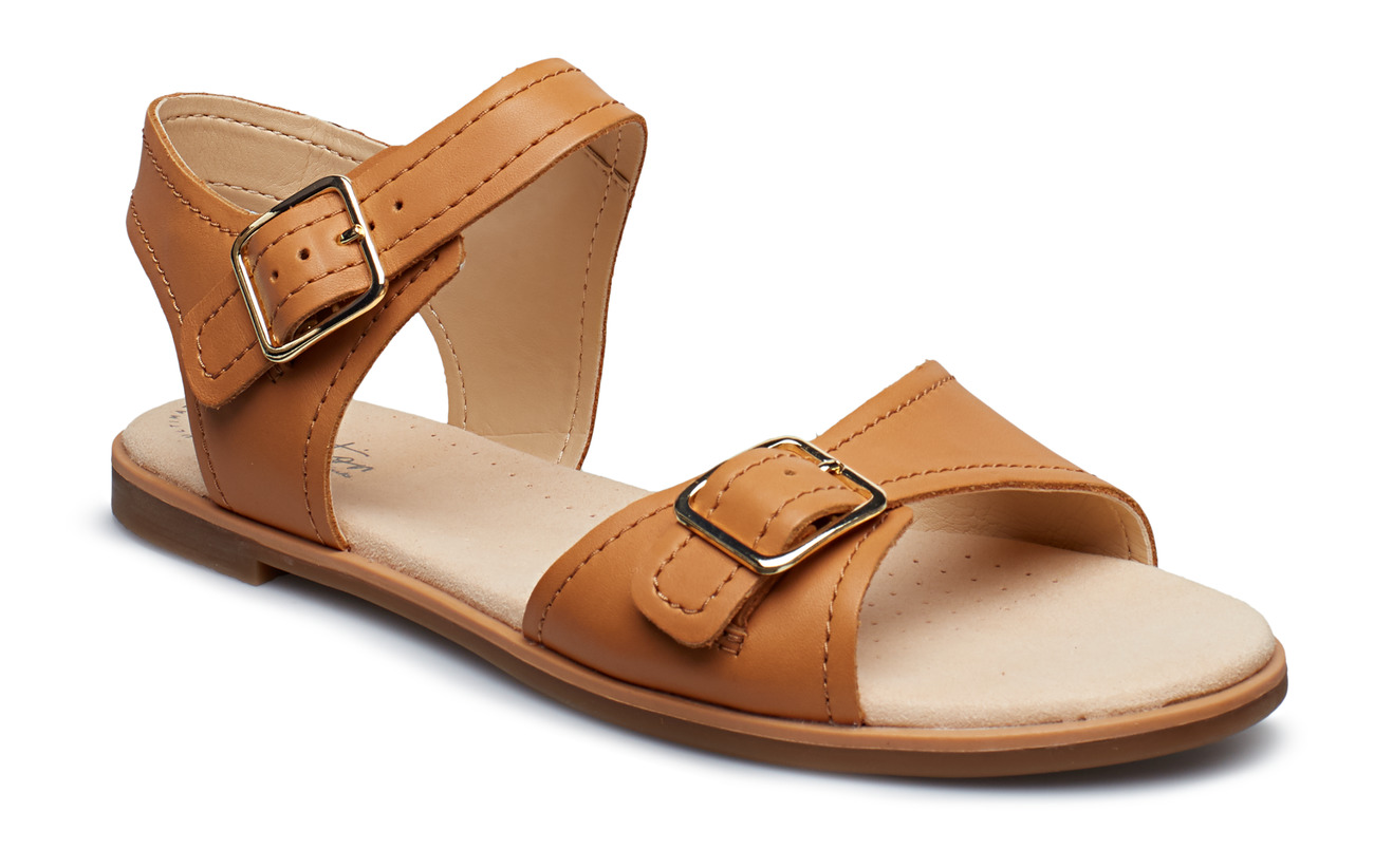 Clarks Bay Primrose - LIGHT TAN LEA