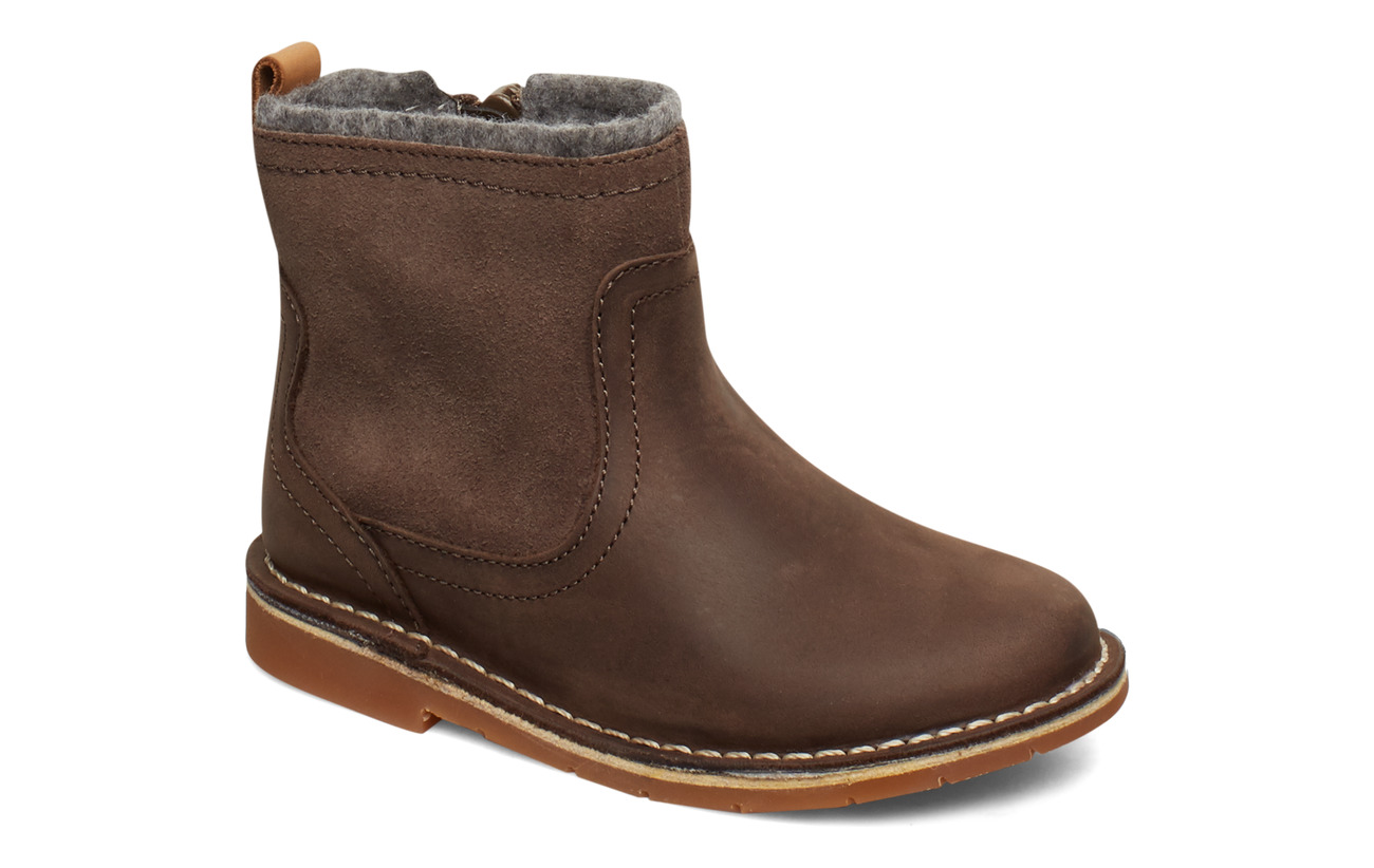 Clarks Comet Frost T - BROWN LEATHER