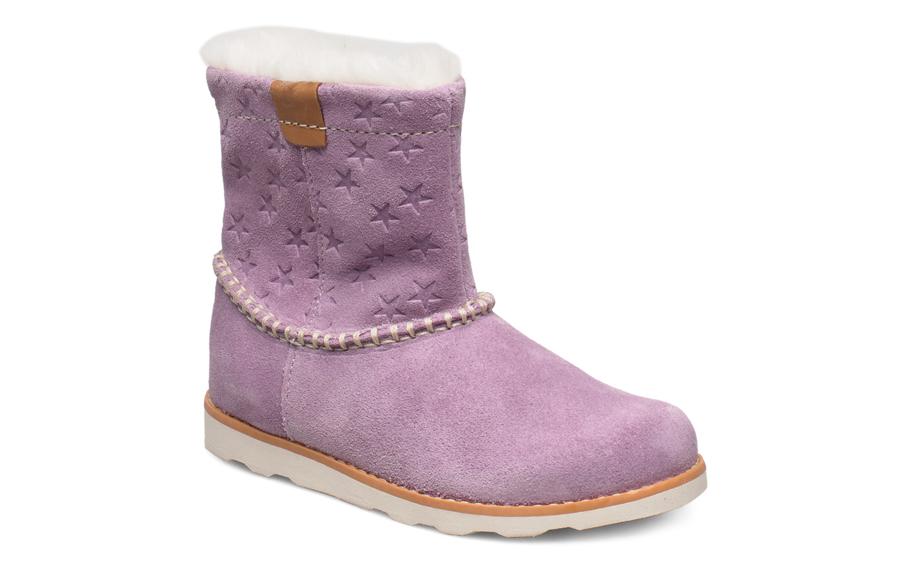 Clarks Crown Piper T - LILAC SUEDE