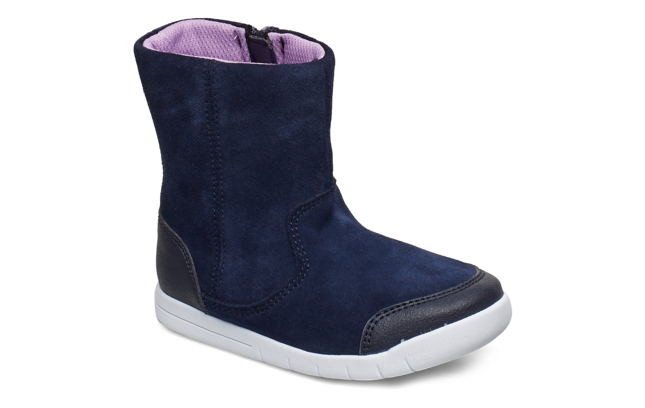 Clarks Emery Rise T - NAVY SUEDE