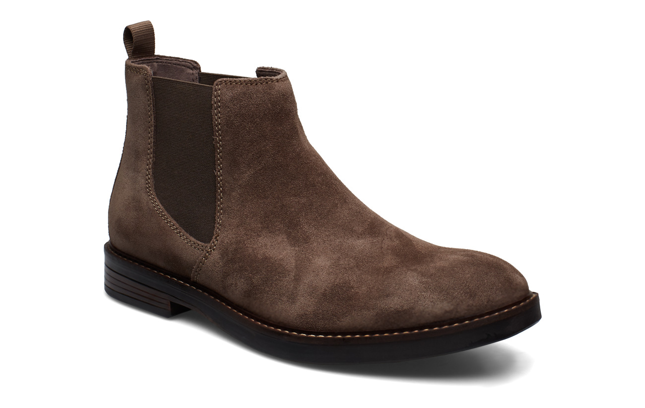 Clarks Paulson Up - TAUPE SUEDE