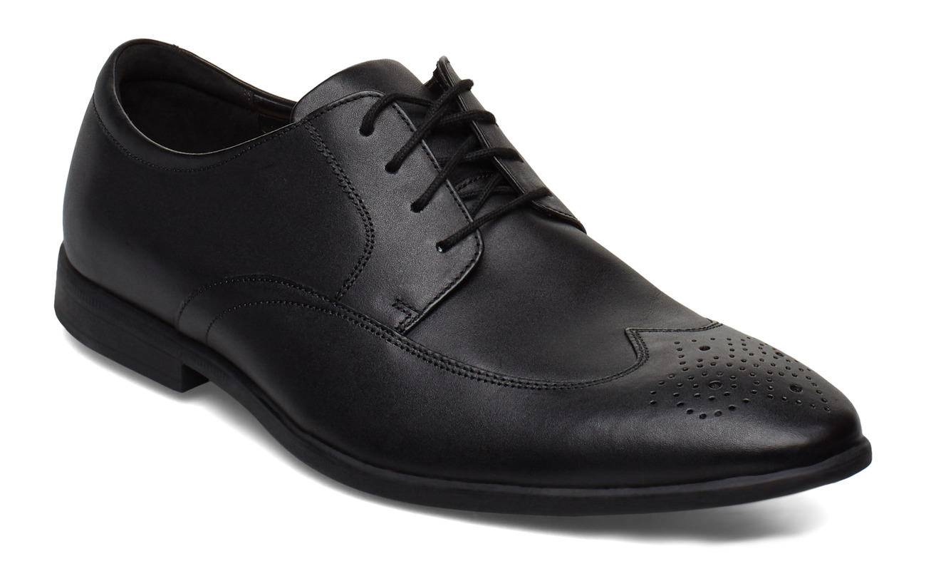 Clarks Bampton Wing - BLACK LEATHER