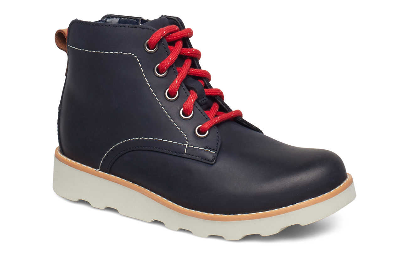 Clarks Crown Hike K - NAVY LEATHER