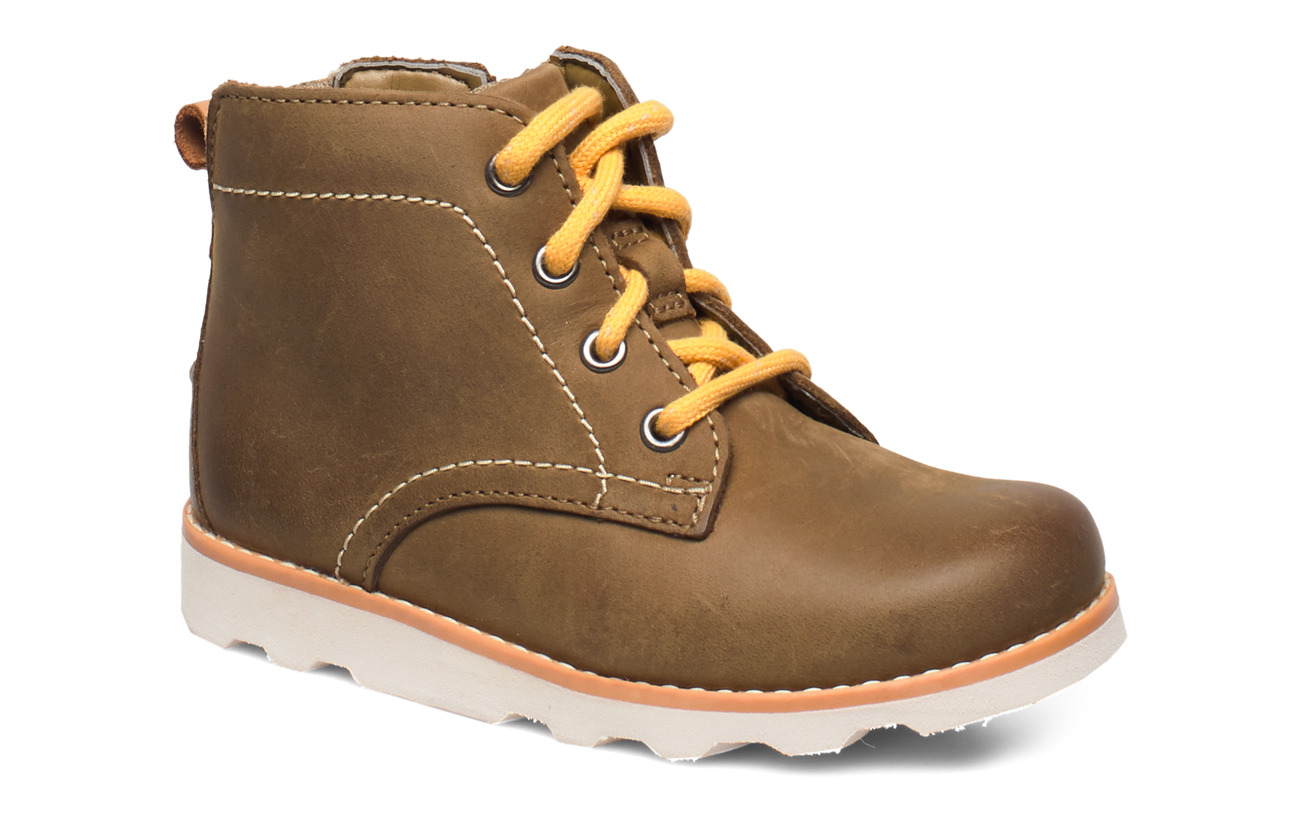 Clarks Crown Hike T - TAN LEATHER