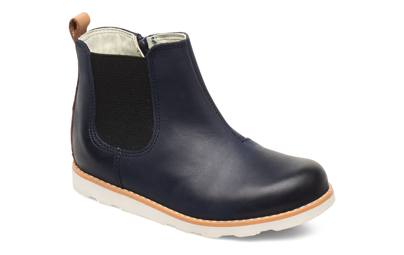 Clarks Crown Halo T - NAVY LEATHER