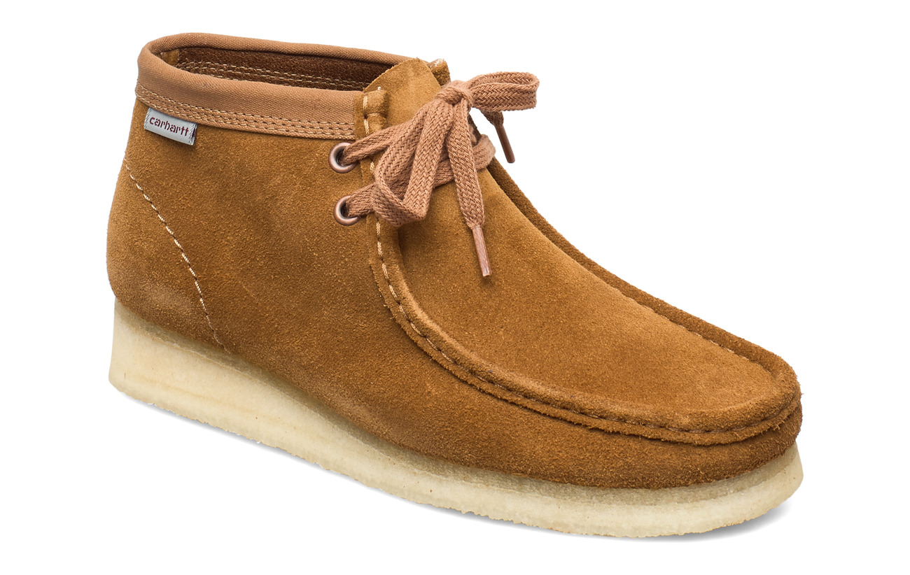 Clarks Wallabee Boot. - BROWN COMBI SDE