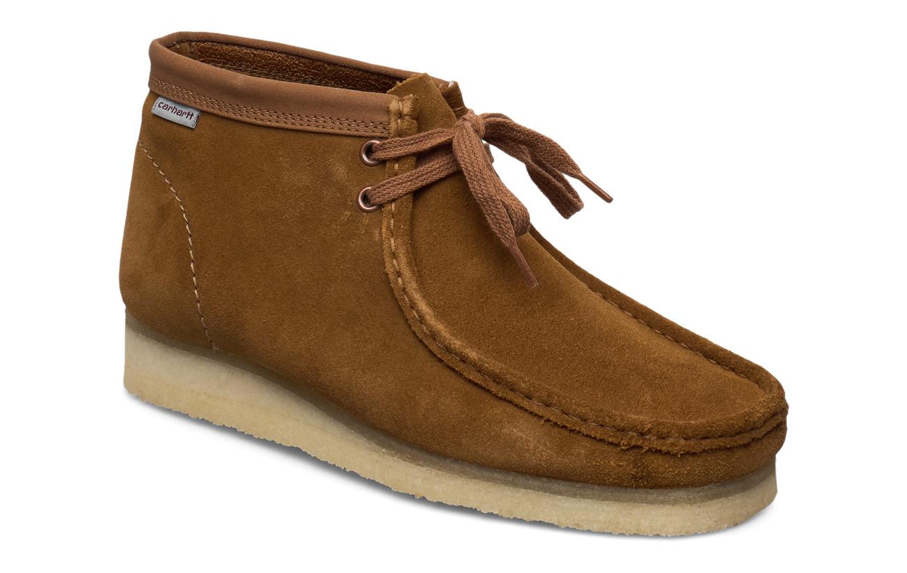 Clarks Wallabee Boot - BROWN COMBI SDE
