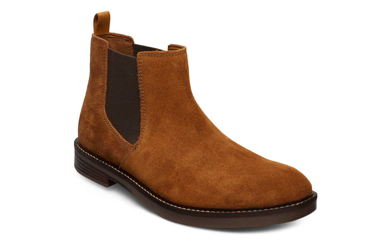 Clarks Paulson Up - TAN SUEDE