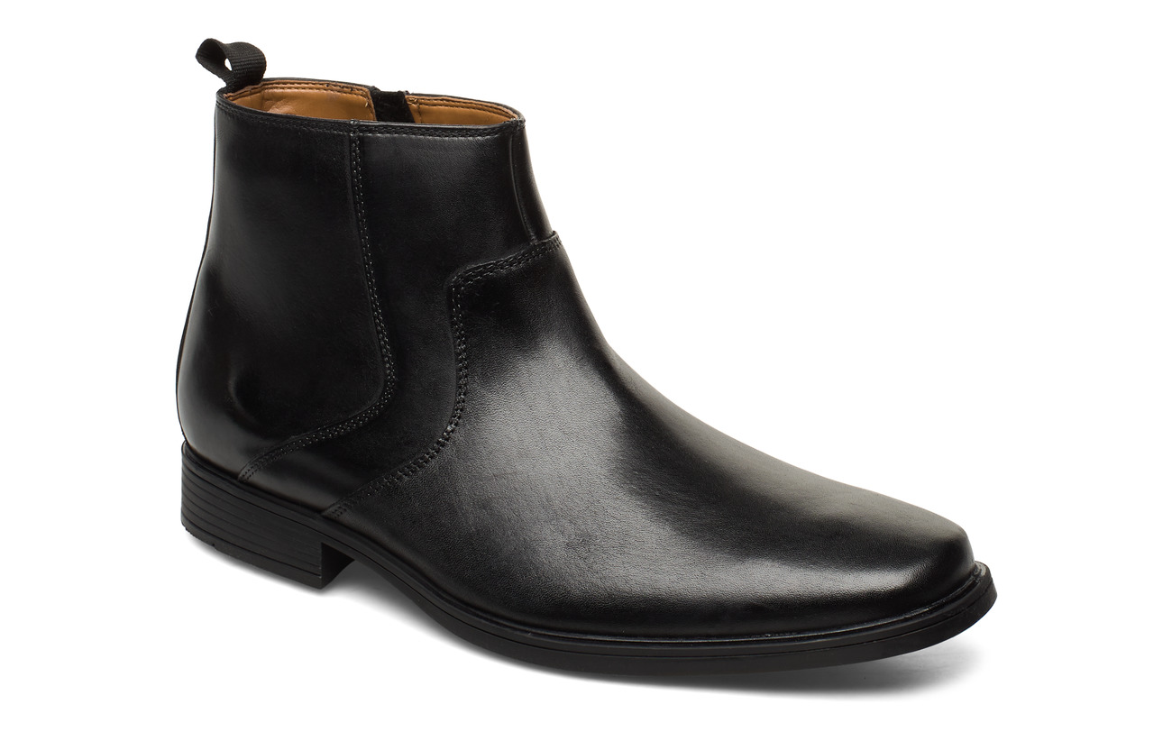 Clarks Tilden Up - BLACK LEATHER