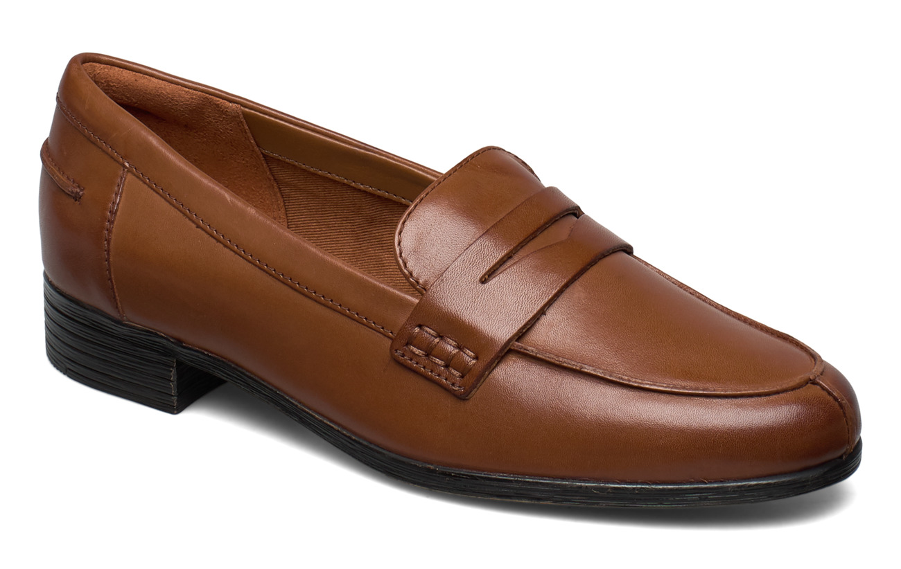 Clarks Hamble Loafer - TAN LEATHER
