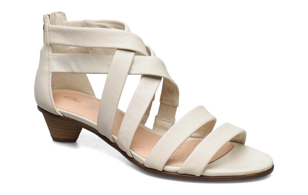Clarks Mena Silk - WHITE
