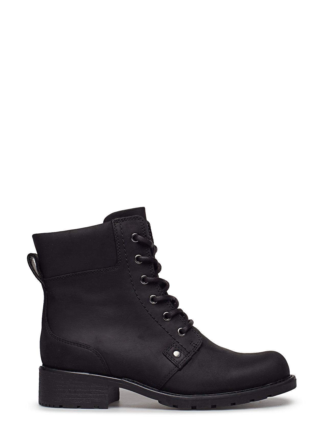 Clarks - Orinoco Spice - flate ankelstøvletter - black leather - 1