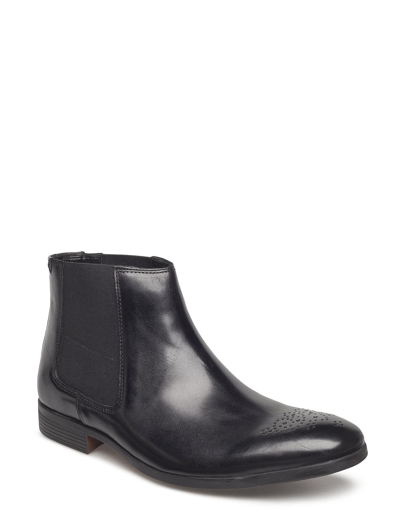 Clarks GilmoreChelsea - BLACK LEATHER