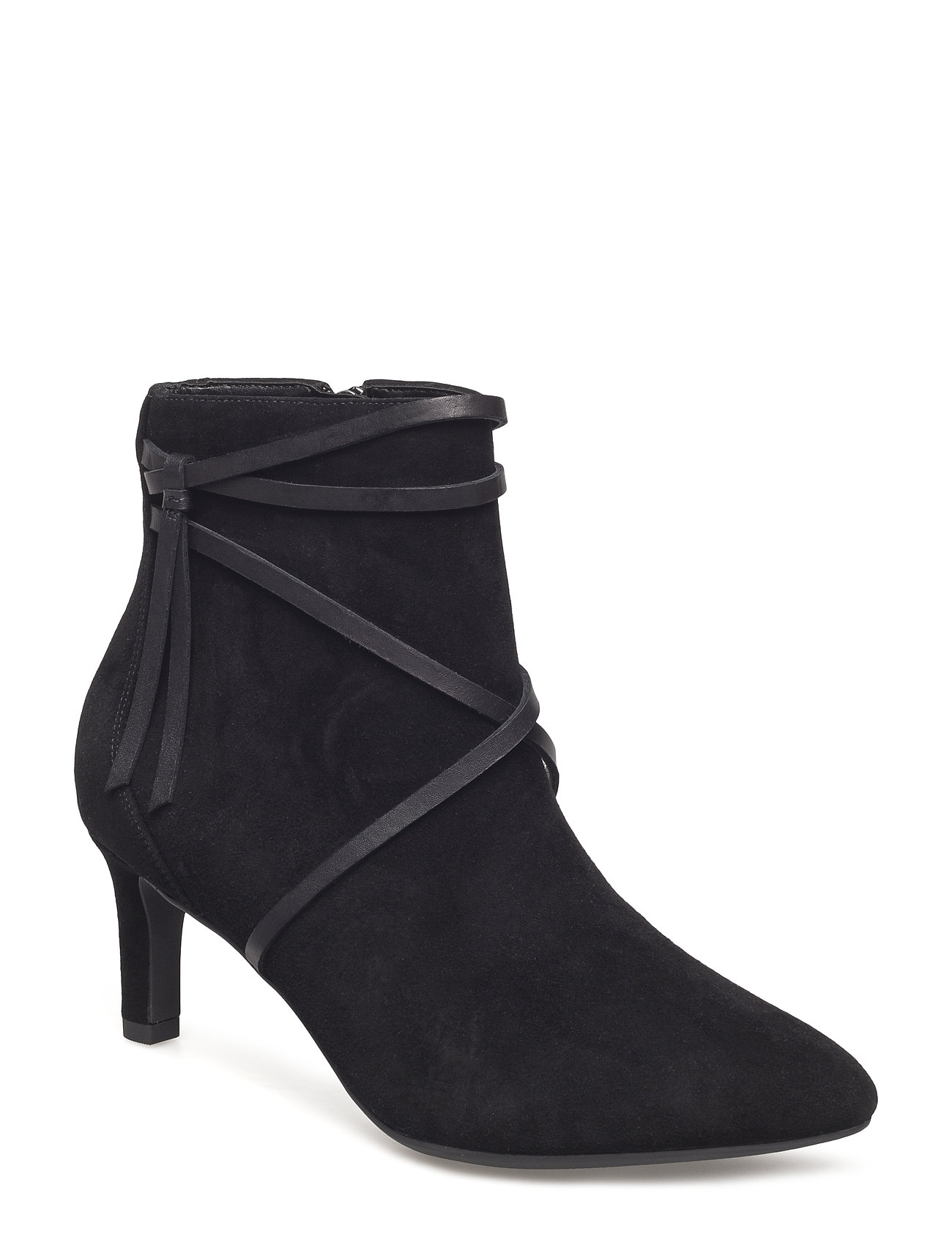 CLARKS Calla Aster Shoes Boots Ankle Boots Ankle Boots With Heel Schwarz CLARKS