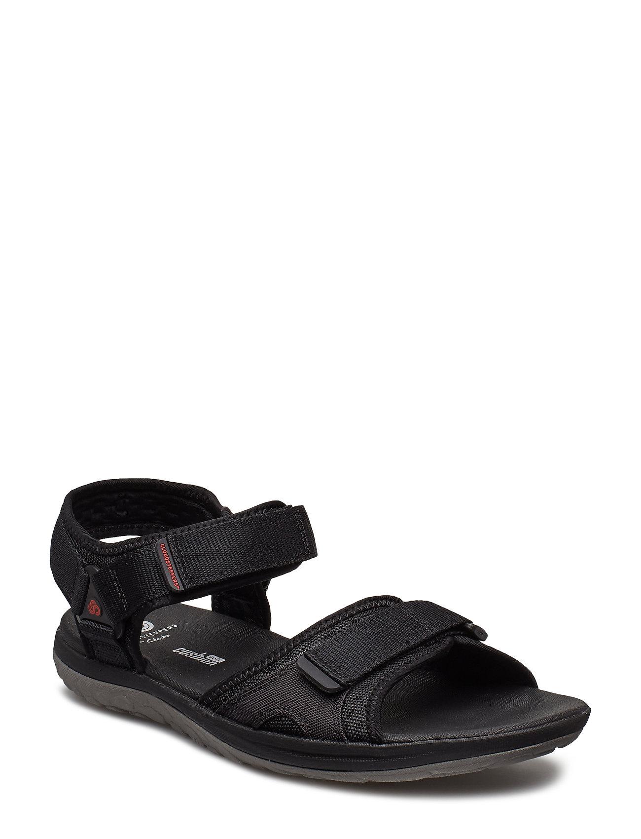 136ffb18e15 Clarks sandaler – Step Beat Sun Sandaler Sort CLARKS til herre i ...