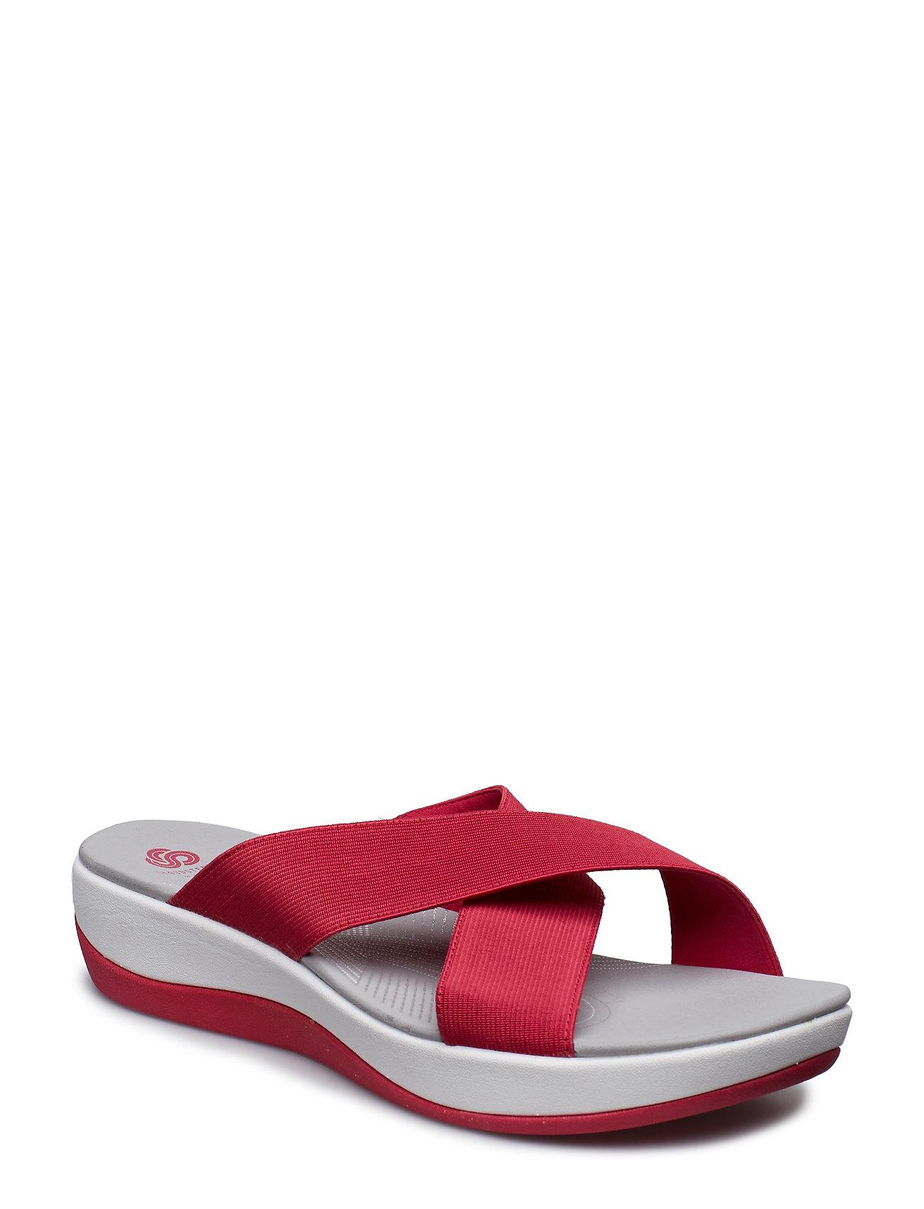 dfc67bfad24 Arla Elin flade sandaler fra Clarks til dame i Rød - Pashion.dk
