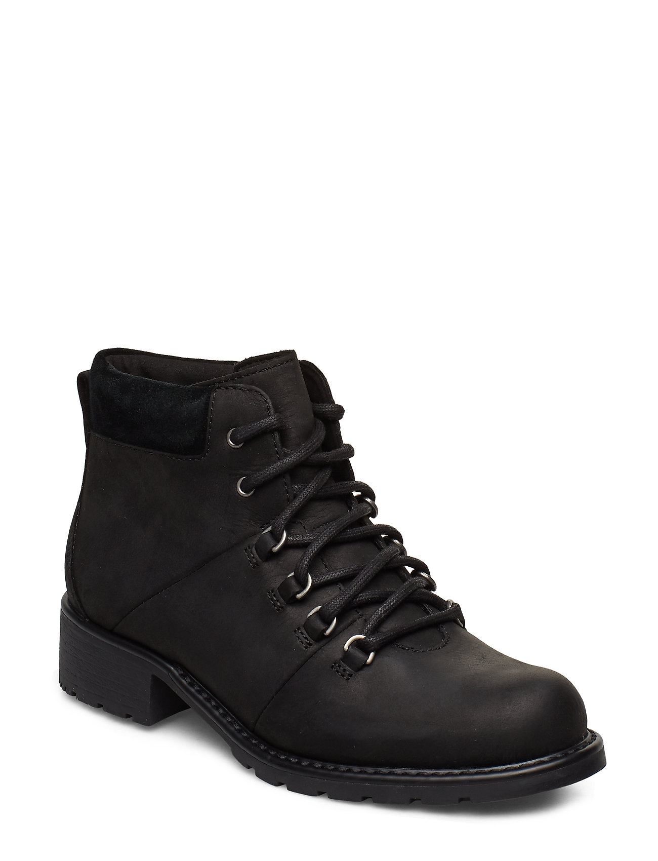 CLARKS Orinoco Demi Shoes Boots Ankle Boots Ankle Boots Flat Heel Schwarz CLARKS