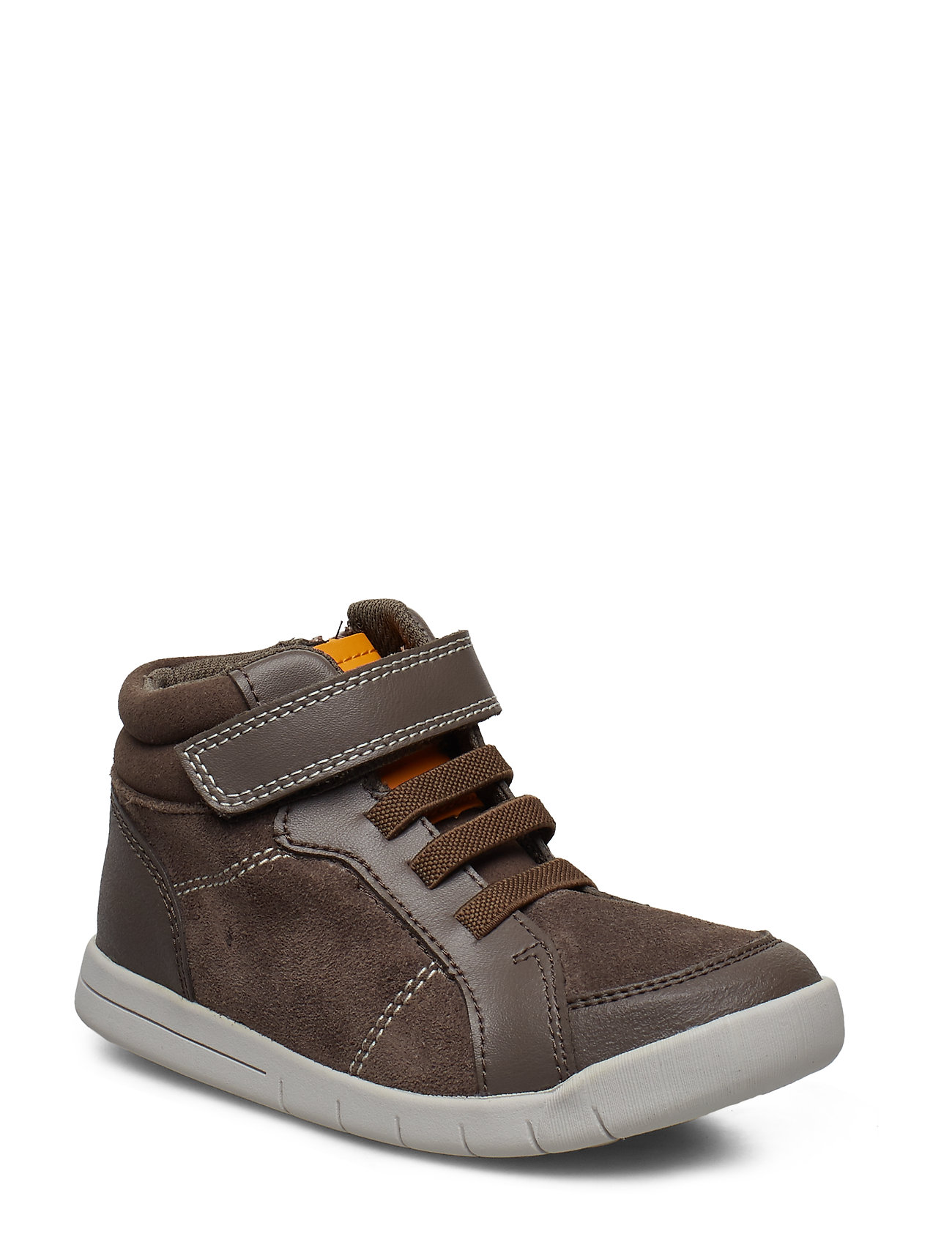 Clarks Emery Beat T - BROWN LEATHER