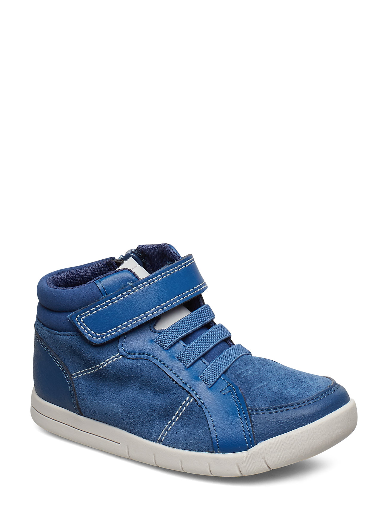 Clarks Emery Beat T - BLUE LEATHER
