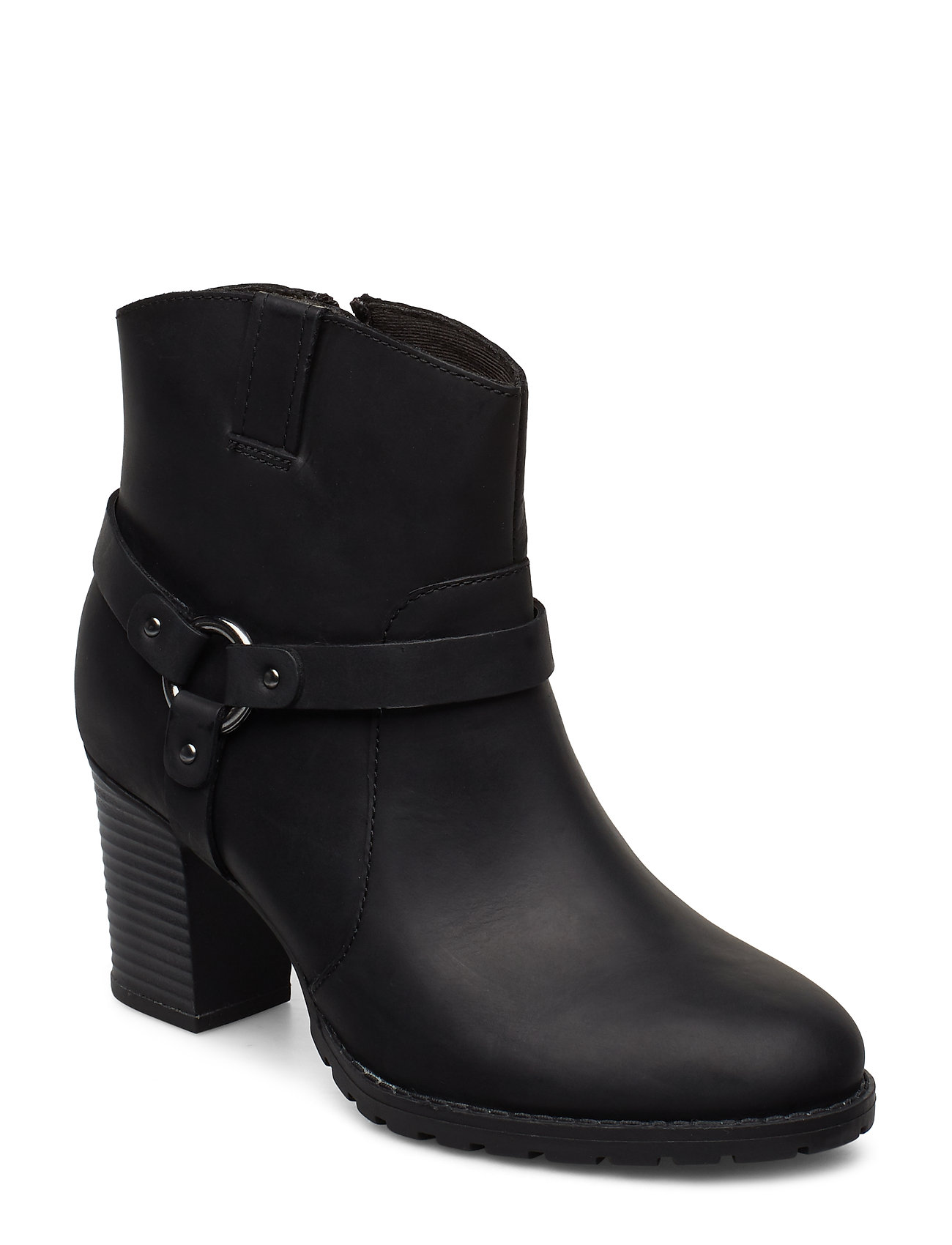 CLARKS Verona Rock Shoes Boots Ankle Boots Ankle Boots With Heel Schwarz CLARKS