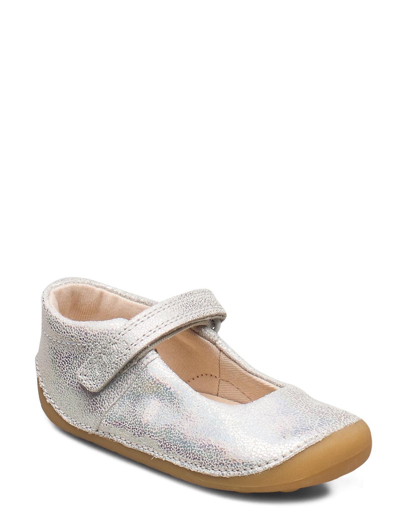 Image of Tiny Mist T Shoes Pre Walkers Beginner Shoes 18-25 Sølv Clarks (3333159491)