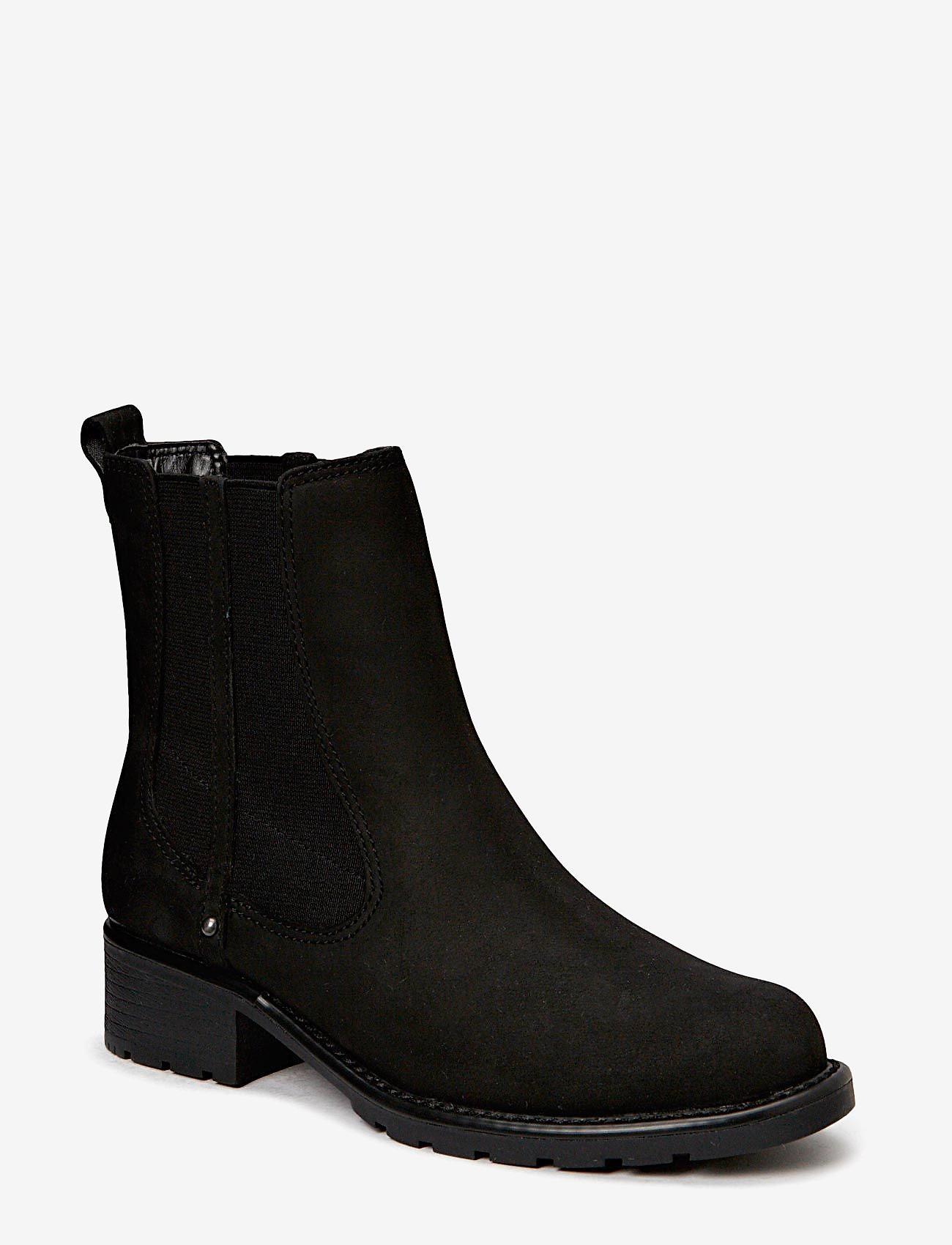 Clarks - Orinoco Club - chelsea boots - black leather - 0