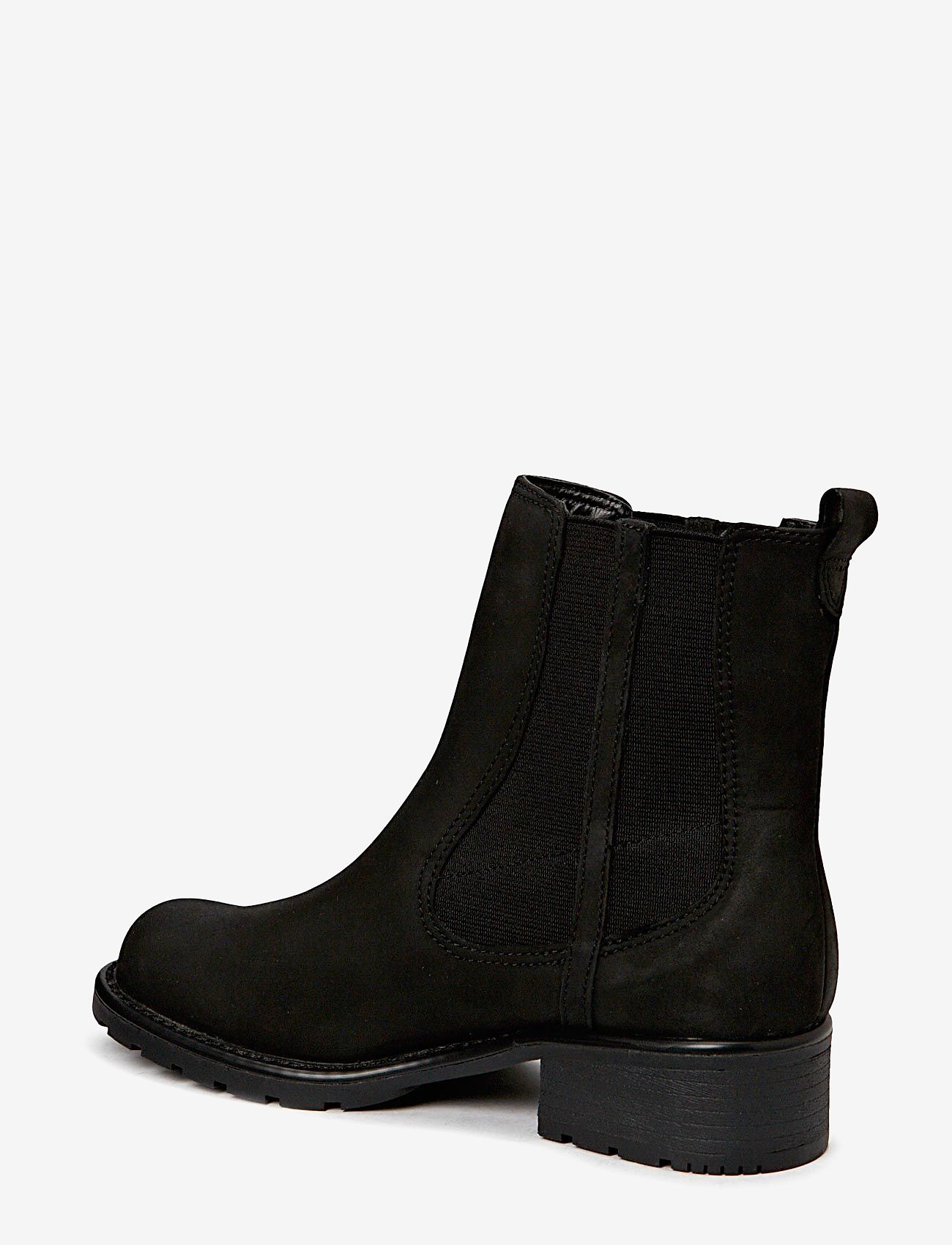 Clarks - Orinoco Club - chelsea boots - black leather - 1